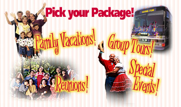Pick your Branson package!